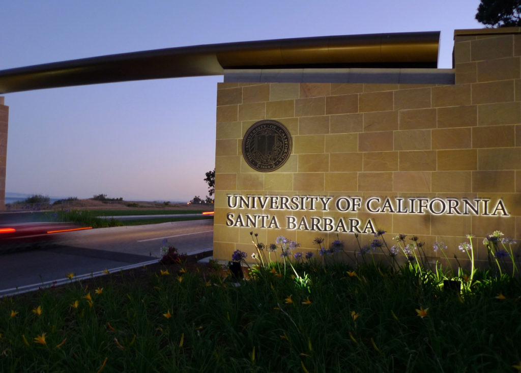 UCSB Front Gate
